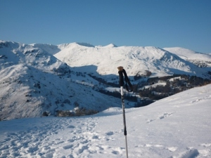 View Towards Helvellyn January 2010 Photo © Rob Shephard