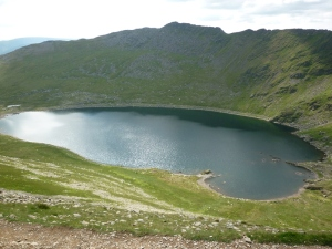 Red Tarn and Striding Edge Photo © Rob Shephard