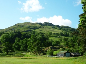 Oxford Crag from Patterdale Photo © Rob Shephard