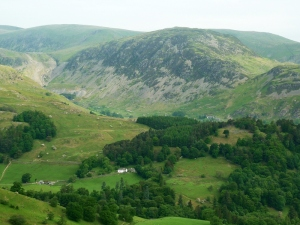 Oxford Crag towards Grisedale Photo © Rob Shephard