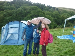 Happy Lake District Campers