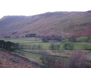 View across Grisedale to Braesteads