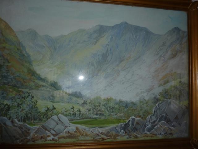 Ward Binks Painting of Helvellyn