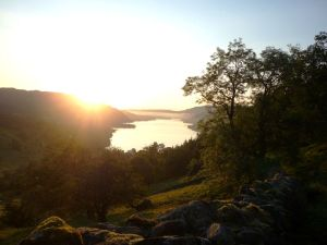 Sunrise over Glencoyne