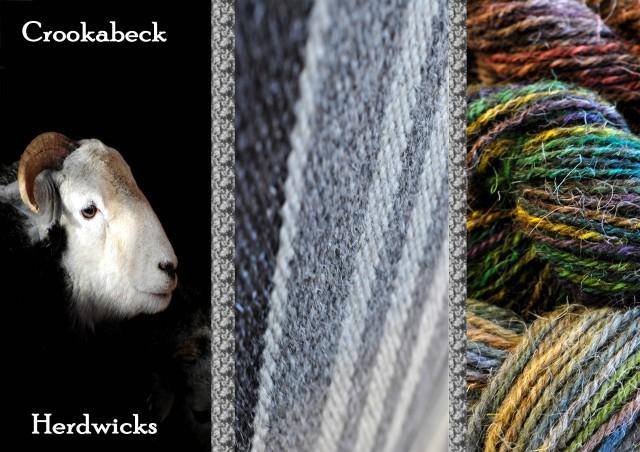 Herdwick Wool from Crookabeck Farm