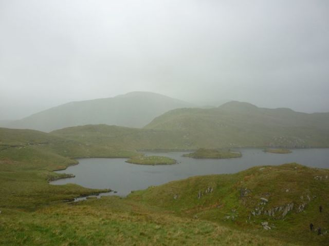 Angle Tarn not at its best