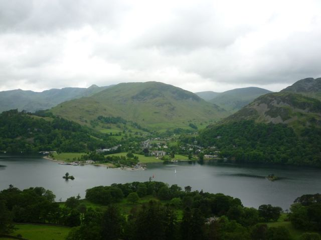 Glenridding and Ullswater from Kilbert How