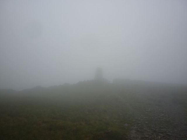 Thornthwaite Beacon in the Mist