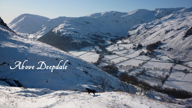 Snow above Deepdale