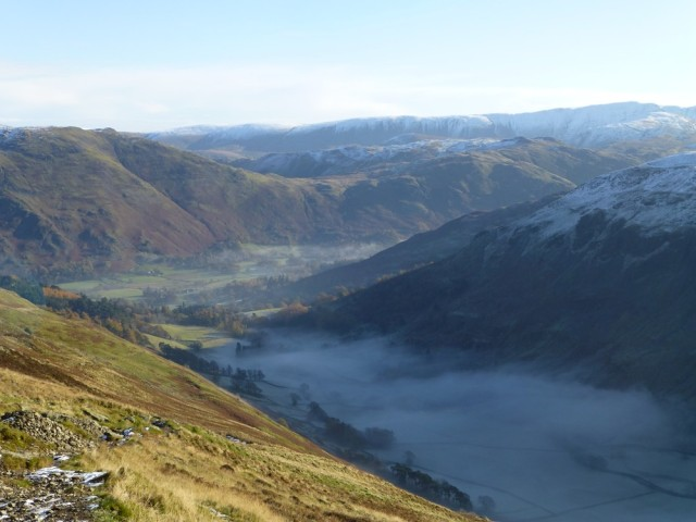 Inversion in the Grisedale Valley