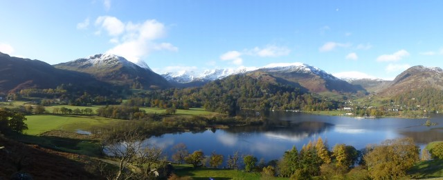 Ullswater with Helvellyn Behind