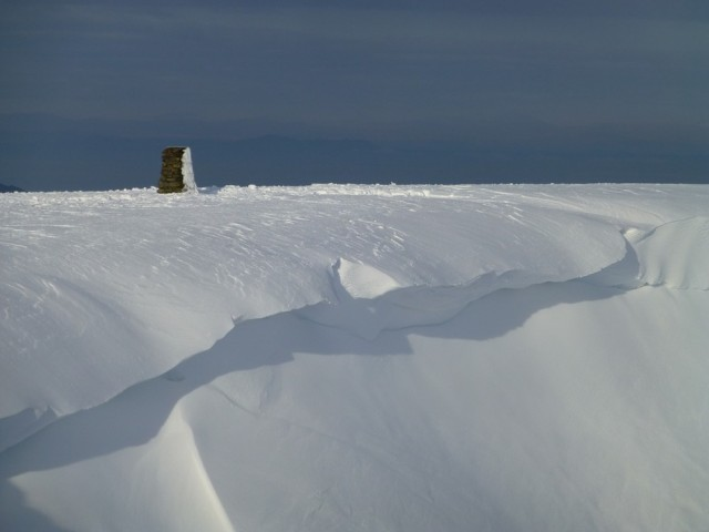 Cornice on the Summit of Helvellyn