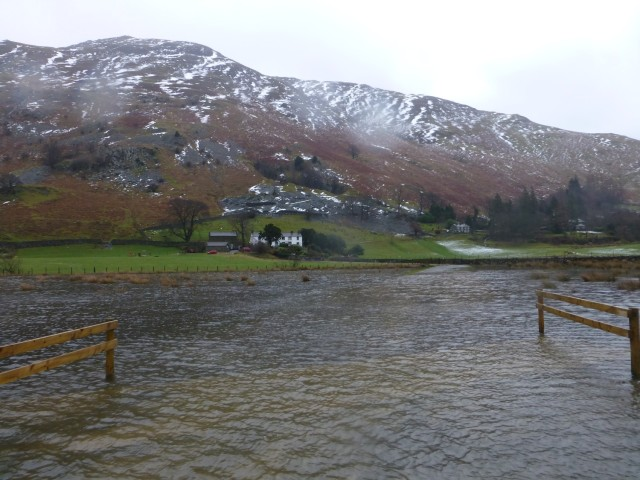 Side Farm and Place Fell Flood
