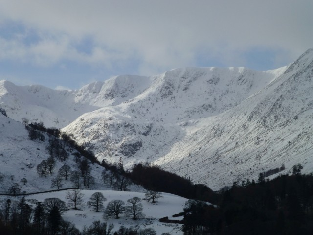 Helvellyn in the Snow