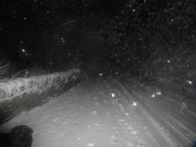 Patterdale Road in the Snow