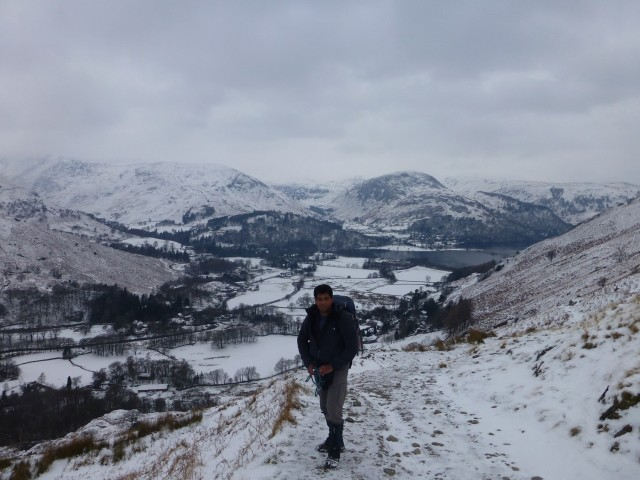 Ullswater in the Snow