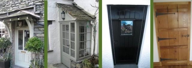Wooden Doors in Cumbria