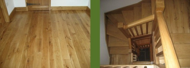 Wooden Stairs and Flooring in Cumbria