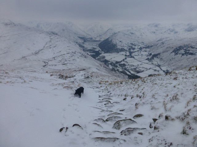 Place Fell in the Snow