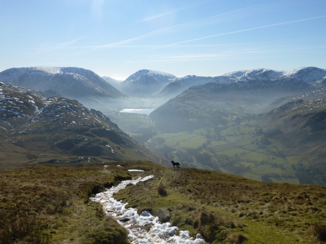 Morgan towards Brotherswater