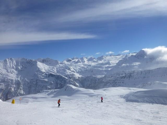 Skiing in La Thuile