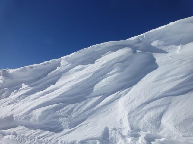 Snowdrift in La Thuile