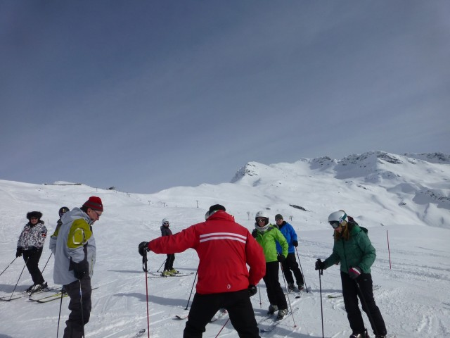 Ski Lesson in La Thuile