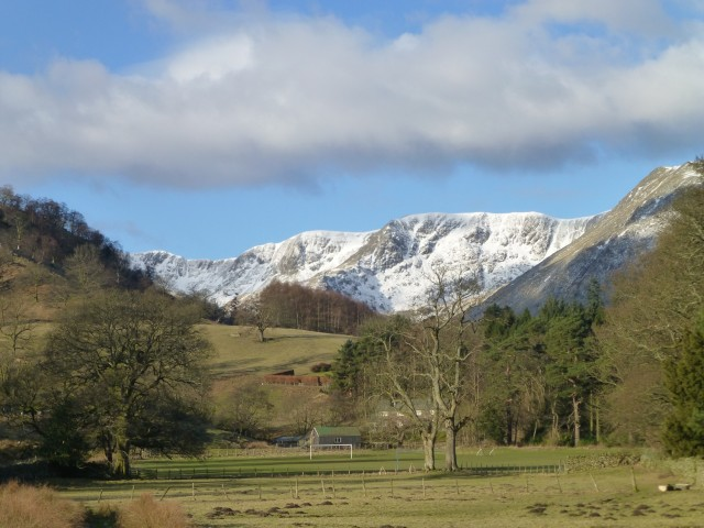 View of Helvellyn from Patterdale