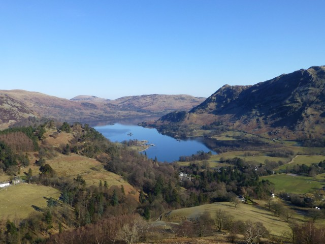 View of Ullswater from St Sunday