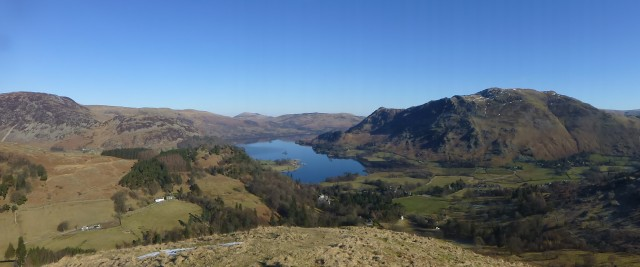 Ullswater from St Sunday Saddle