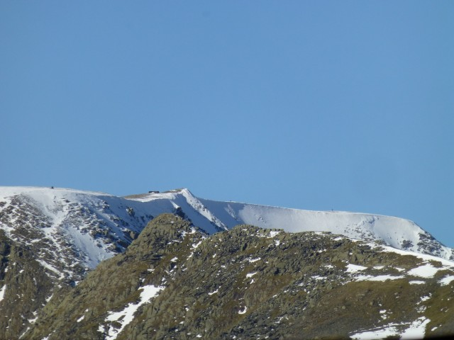 Helvellyn and Striding Edge from St Sunday