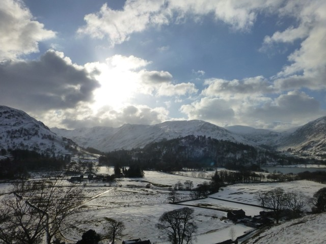 Patterdale in the Snow