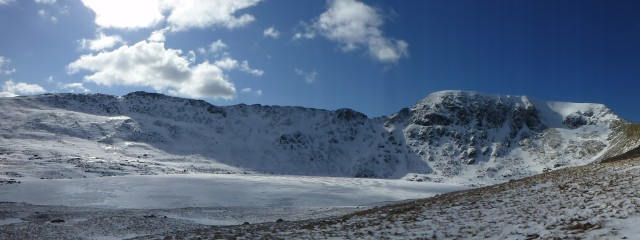 Helvellyn, Red Tarn and Striding Edge
