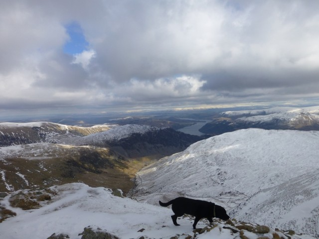 Looking East towards Ullswater