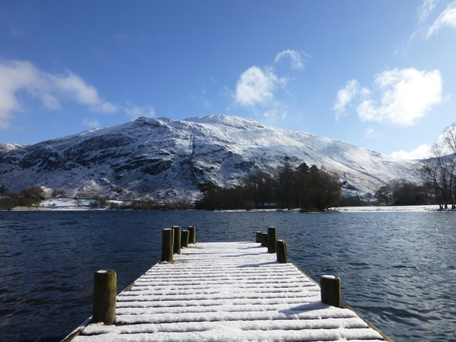 Jetty at the Southern End of Ullswater