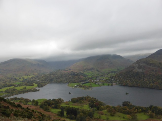 Ullswater from the side of Place Fell