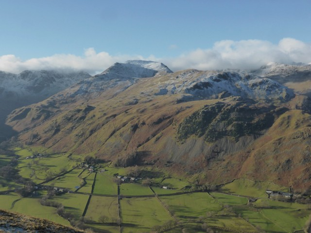 View across to Deepdale from above Boredale Hause