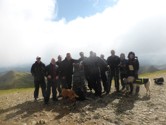 Helvellyn Summit Group July 2014