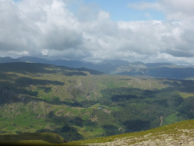 The view west from Nethermost