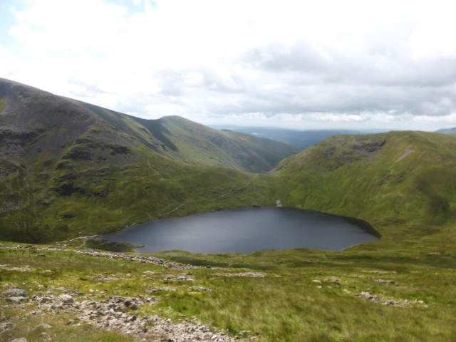 Grisedale Tarn from Dollywaggon
