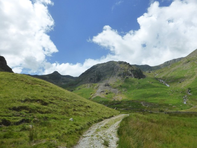View back up the Grisedale Valley