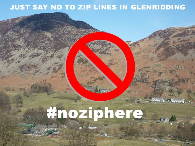 Say no-to zipwire in Glenridding