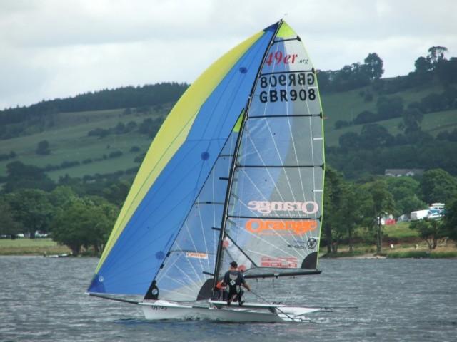 Sailing on Ullswater