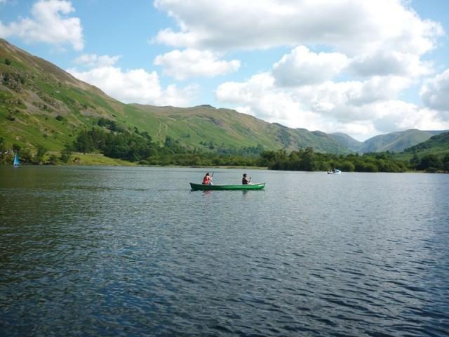 Exploring Ullswater by Kayak and Canoe